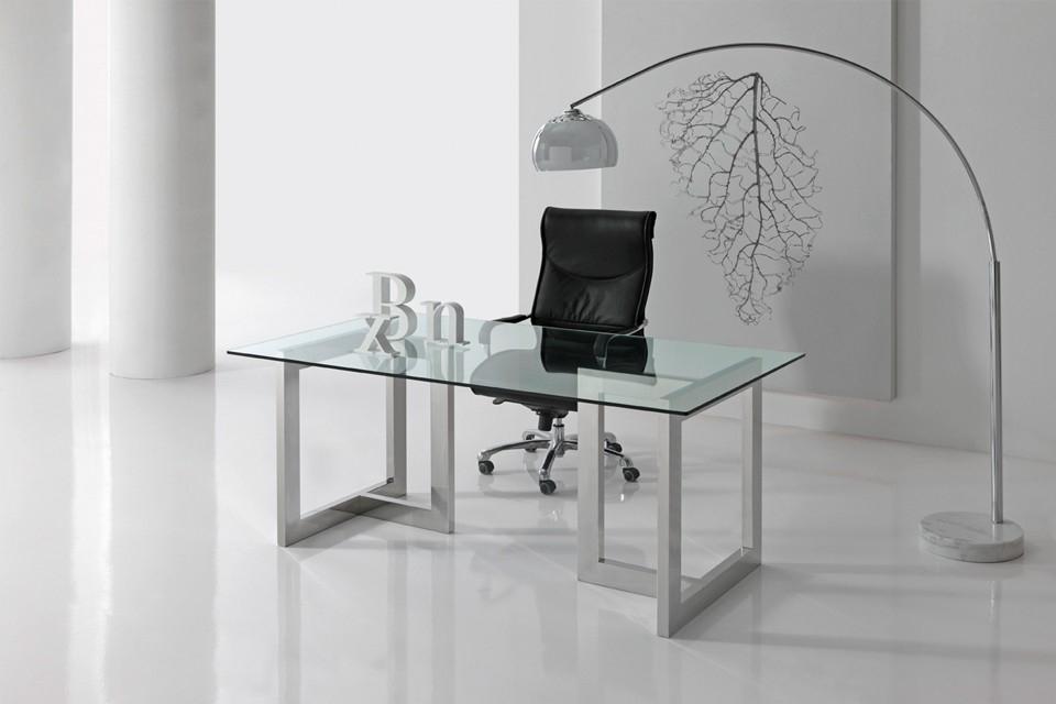 Caballetes De Metal Para Mesas.Mesa De Despacho Y Comedor Con Caballetes 8500 Altinox