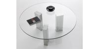 Mesa de centro redonda modelo 9000