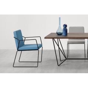 Gema chair and armchair