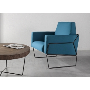 Gema upholstered armchair