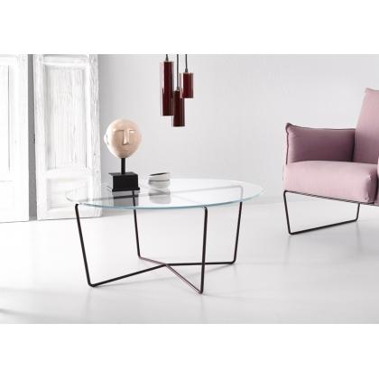 "Round coffee table. ""Gem"""