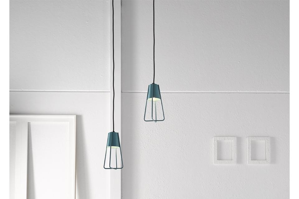 Lámpara metálica Modelo Gema