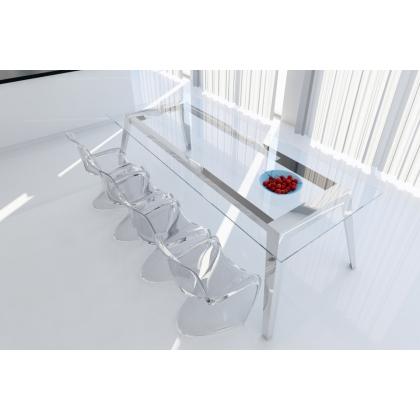 Mesas de comedor minimalistas for Mesa comedor disea o